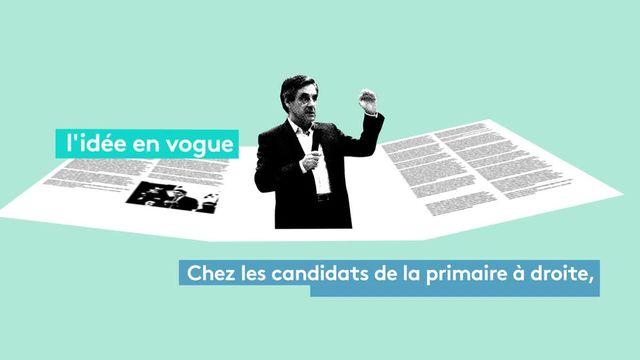 3 propositions de François Fillon