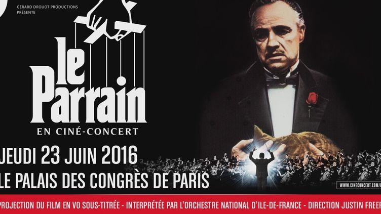 Ciné-concert Le Parain-Nino Rota : l'affiche  (DR)