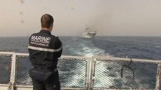 Les équipes de France 2 sont parties aux côtés de la future élite de la Marine nationale pour la mission Jeanne d'Arc. (France 2)