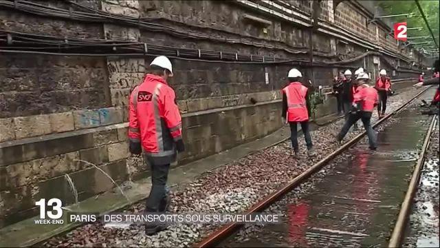 Inondations à Paris : des transports sous surveillance