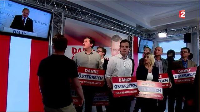 Autriche : l'extrême droite battue de peu