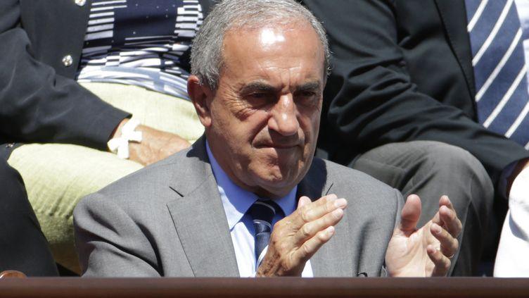 Jean Gachassin, le président de la FFT, dans la tourmente. (KENZO TRIBOUILLARD / AFP)