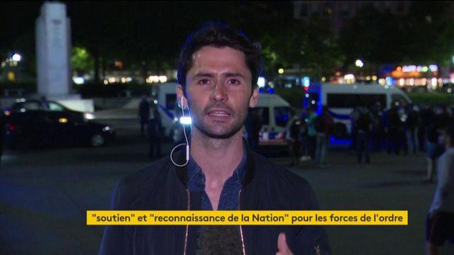 Après le discours de Macron, les policiers manifestent à Paris