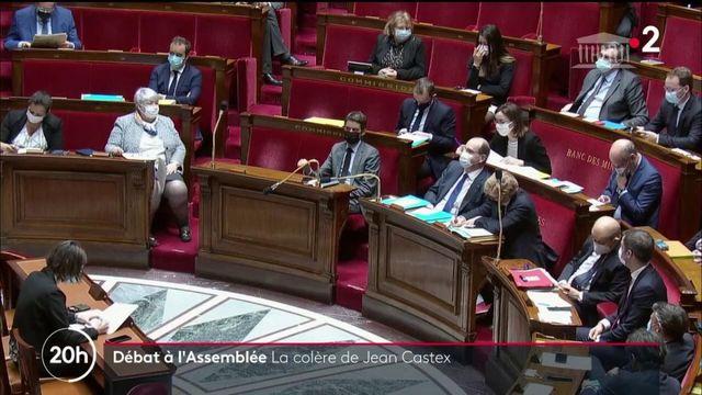 """Discours de Jean Castex au Parlement : l'opposition dénonce un """"déni de démocratie"""""""