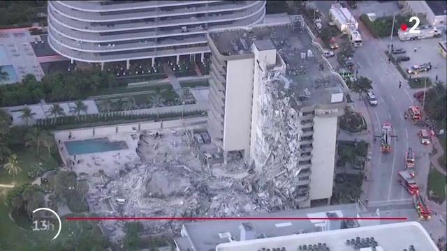 États-Unis : 99 personnes portées disparues après l'effondrement d'un immeuble en Floride