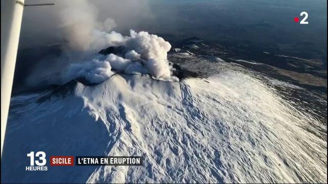 Sicile : l'Etna est entré en éruption