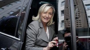 La présidente du FN, Marine Le Pen, le 23 juin 2015 à Paris. (MAXPPP)