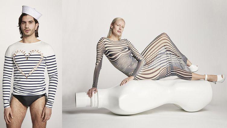 """Drop estival """"Les Marins"""", collaboration entre Jean Paul Gaultier et cinq designers, mai 2021 (Nicolas Coulomb)"""