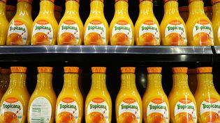 Des bouteilles de Tropicana vendues aux Etats-Unis. Photo d'illustration. (SCOTT OLSON / GETTY IMAGES NORTH AMERICA)