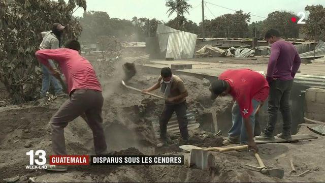 Guatemala : la recherche des disparus sous les cendres du volcan