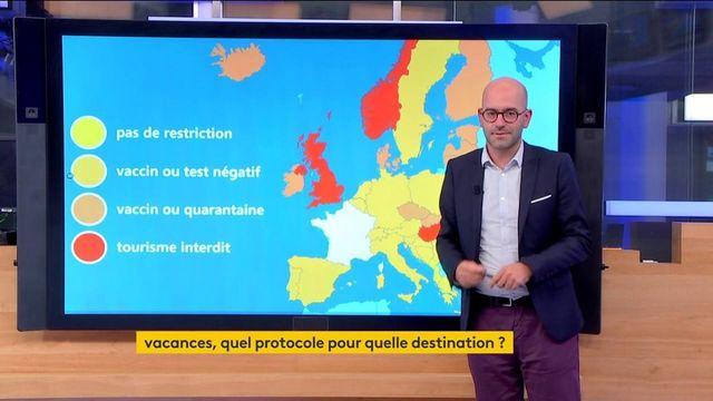 COVID-19 : vacances, quel protocole pour quelle destination en Europe ?