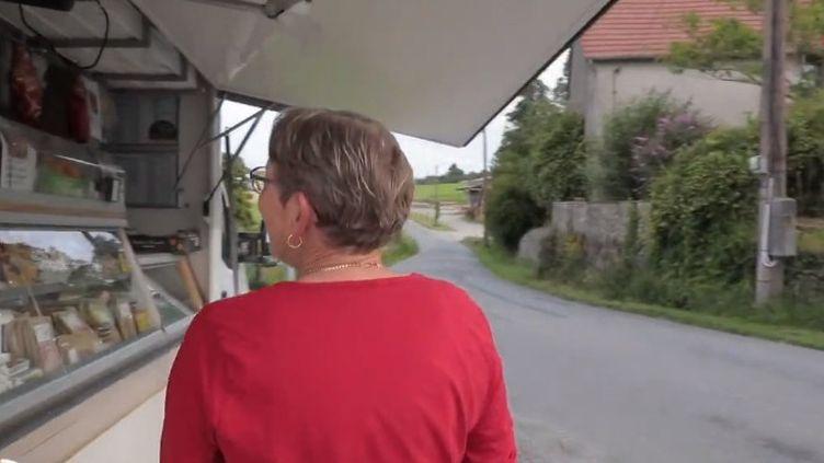 Epicier itinérant. (FRANCE 2)