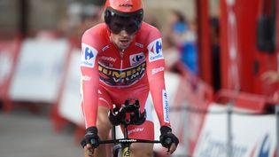 Primoz Roglic a remporté dimanche une quatrième victoire d'étape sur la Vuelta 2021. (MIGUEL RIOPA / AFP)