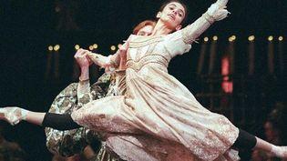 Sylvie Guillem lors du ballet Roméo et Juliette en 1991  (D.Ceyrac. AFP)