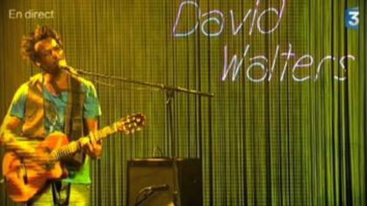 """David Walters en live avec """"Same Song""""  (Culturebox)"""