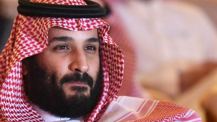 Le prince héritier d'Arabie saoudite, Mohammed ben Salmane, le 24 octobre 2017. (FAYEZ NURELDINE / AFP)