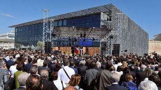 Le MuCEM, le jour de son inauguration  (GERARD JULIEN / AFP)