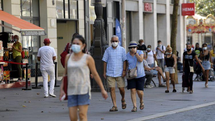 AMarseille, le 14 septembre 2020. (NICOLAS TUCAT / AFP)