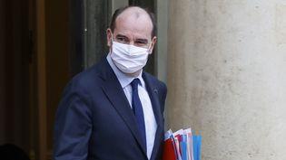 Le Premier ministre Jean Castex, le 13 janvier 2021 à l'Elysée, à Paris. (LUDOVIC MARIN / AFP)