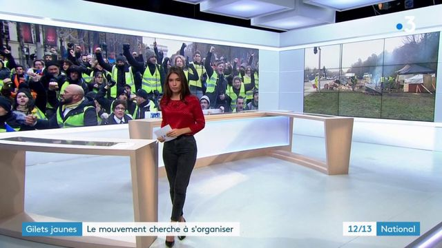 """""""Gilets jaunes """": le mouvement cherche à s'organiser."""