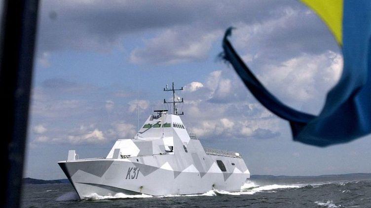 Bâtiment de la marine suédoise (Reuters)