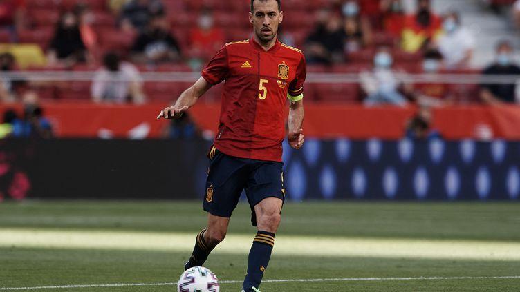 Sergio Busquets, le capitaine de la sélection espagnole de football. (JOSE BRETON / NURPHOTO)