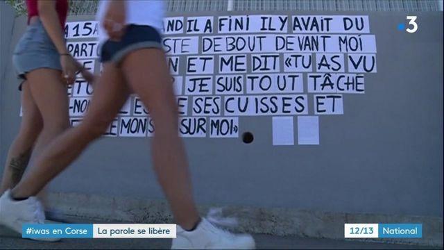 Corse : la parole se libère contre les violences sexuelles