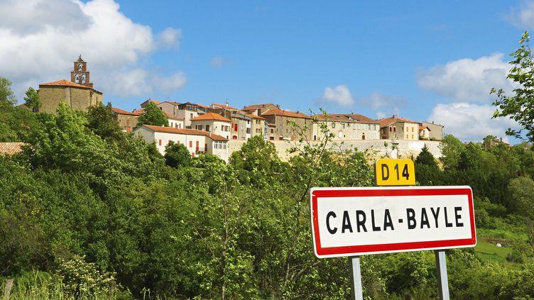 Le village de Carla-Bayle (Ariège), où Laurent Fabius possède une résidence secondaire. (MORANDI BRUNO / AFP)