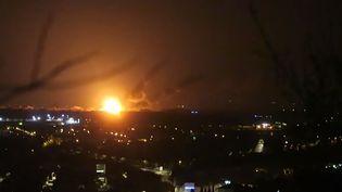 L'explosion a eu lieu àJonquières, entre Orange et Carpentras dans le Vaucluse. (CAPTURE D'ECRAN / TWITTER)
