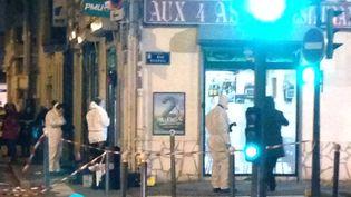 La fusillade s'est produite aux alentours de 18 heures, le 1er décembre à Villeurbanne. (BENOIT GADREY / FRANCE 2)