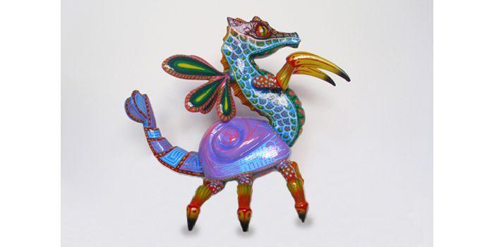 Alebrijes. Animaux hybrides imaginaires du Mexique  (Salon du livre et de la presse jeunesse)