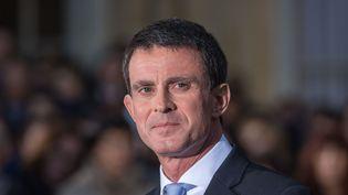 L'ancien Premier ministre Manuel Valls à Matignon, le 6 décembre 2016. (JULIEN MATTIA / NURPHOTO)