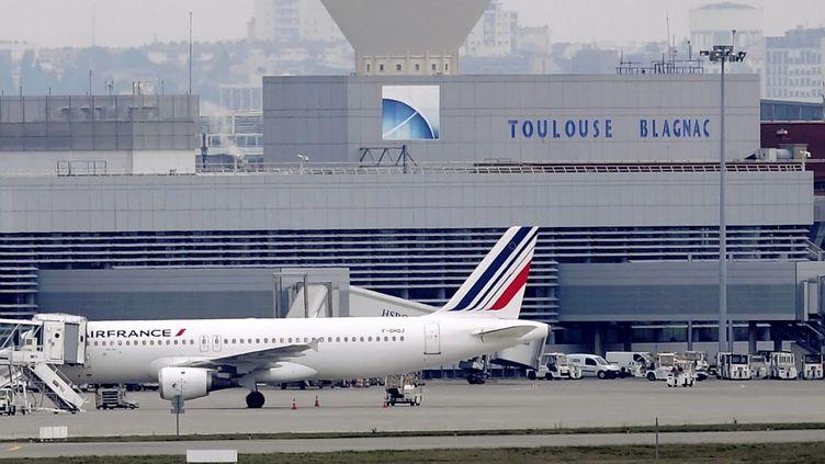 L'aéroport de Toulouse-Blagnac (Haute-Garonne), le 9 février 2019. (MAXPPP)