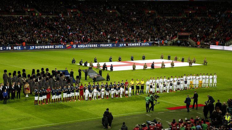 Le 17 novembre 2015, l'Angleterre avait accueilli l'équipe de France à Wembley, quatre jours après les attentats de Paris qui avaient fait 130 victimes... (YUNUS KAYMAZ / ANADOLU AGENCY)