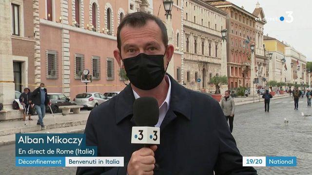 Italie : les touristes font leur retour à Rome