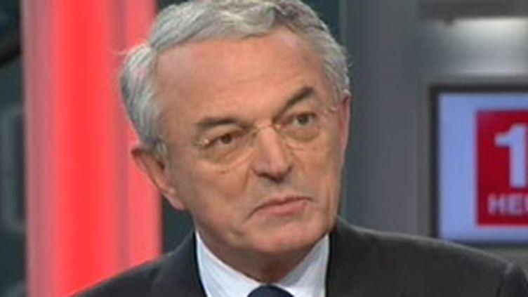 Jean Arthuis, président de la commission des finances du Sénat et fondateur de l'Alliance centriste. (France 2)