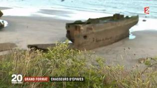 France 2 vous entraîne sous les flots, dans la Manche, à la découverte d'épaves oubliées. Des passionnés d'histoire cherchent à retracer leur passé. (FRANCE 2)