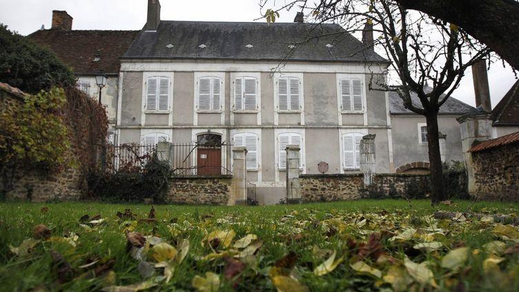 La maison natale de Colette àSaint-Sauveur-en-Puisaye (Yonne). (JEFF PACHOUD / AFP)