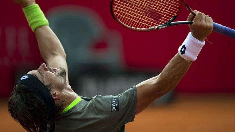 David Ferrer explose de joie (ALEJANDRO PAGNI / AFP)