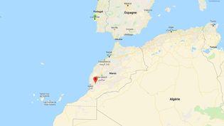La province de Taroudant, au Maroc. (GOOGLE MAPS)