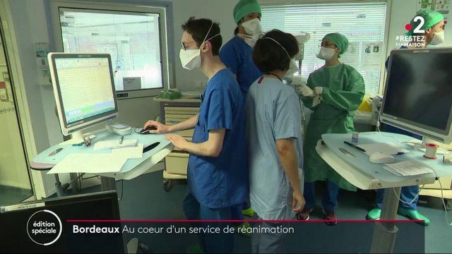 Coronavirus : au cœur du service réanimation de Bordeaux