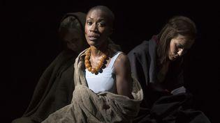 """Rokia Traoré dans """"Didon et Enée"""" de Purcelle, Aix-en-Provence, le 03/07/18  (BERTRAND LANGLOIS / AFP)"""