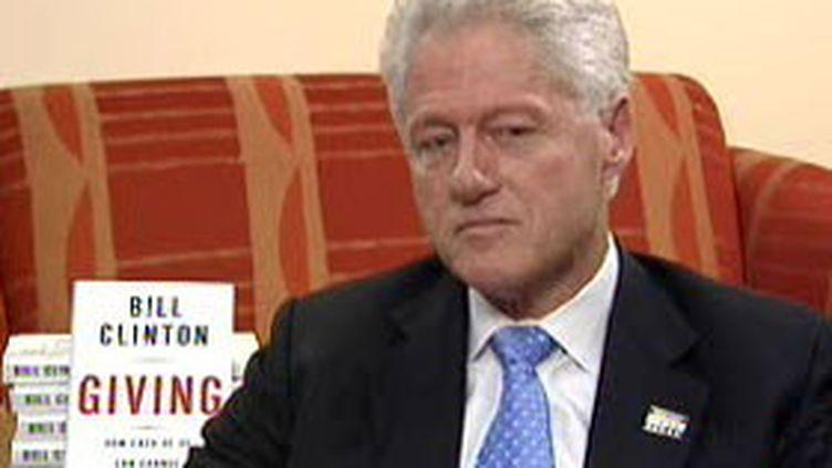 L'ancien président américain Bill Clinton, interviewé par France 2 (France 2)
