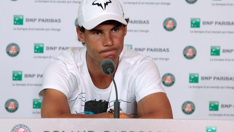 Le joueur espagnol Rafael Nadal (CYRILLE CADET / AFP)