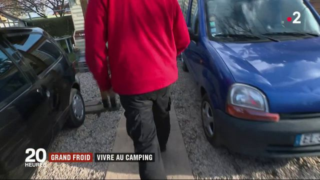 Grand froid : les habitants des campings s'adaptent