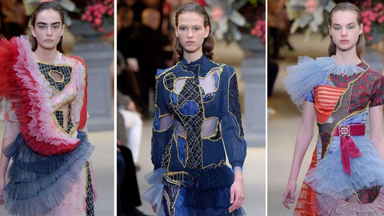 Viktor & Rolf haute couture printemps-été 2017, à Paris, janvier 2017  ( WWD/Shutterstock/SIPA)