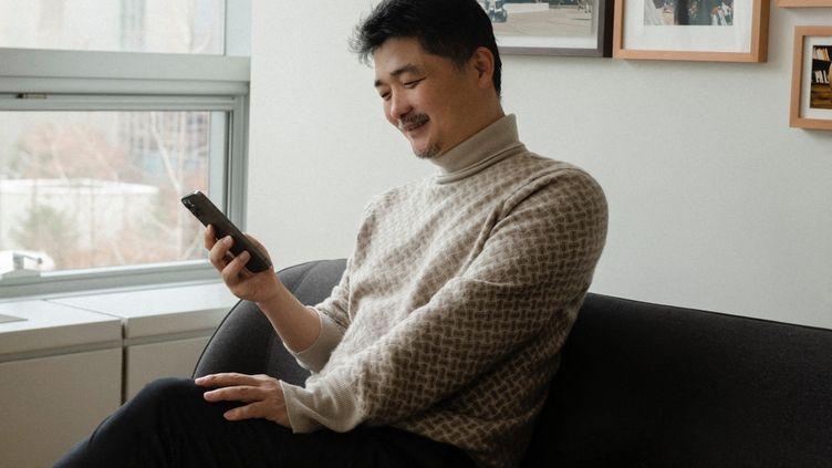 Kim Beom-su, le fondateur de l'application de jeu en ligne Kakao, le lundi 8 février 2021. (HANDOUT / KAKAO)