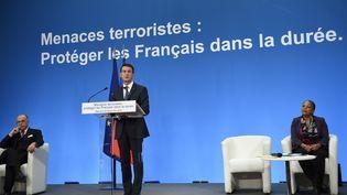 Manuel Valls donne une conférence de presse à l'Elysée, mercredi 23 décembre 2015. (AFP)