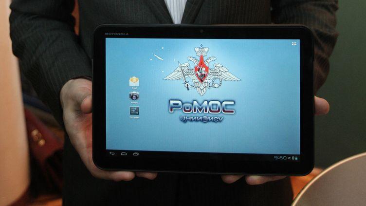 Le système d'exploitation Romos sera en premier lieu utilisé par le ministère de la Défense russe. (SERGEY MAMONTOV / RIA NOVOSTI / AFP)