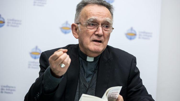 Monseigneur Georges Pontier, archevêque de Marseille et président de la Conférence des évêques de France, le 10 octobre 2016. (VINCENT ISORE / MAXPPP)